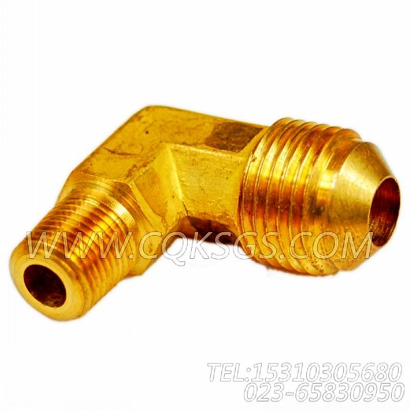 142429弯管接头,用于康明斯NTA855-C335发动机增压器安装组,【牵张机】配件-0