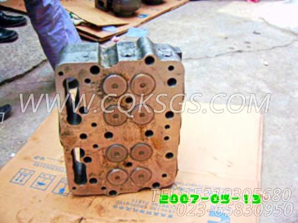 3418529气缸盖,用于康明斯NTA855-C400主机性能件组,【固井水泥车】配件-0