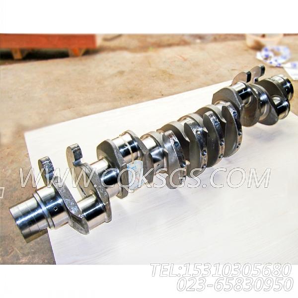 3418898曲轴18,用于康明斯KTA19-C450柴油机基础件组,【摊铺机】配件