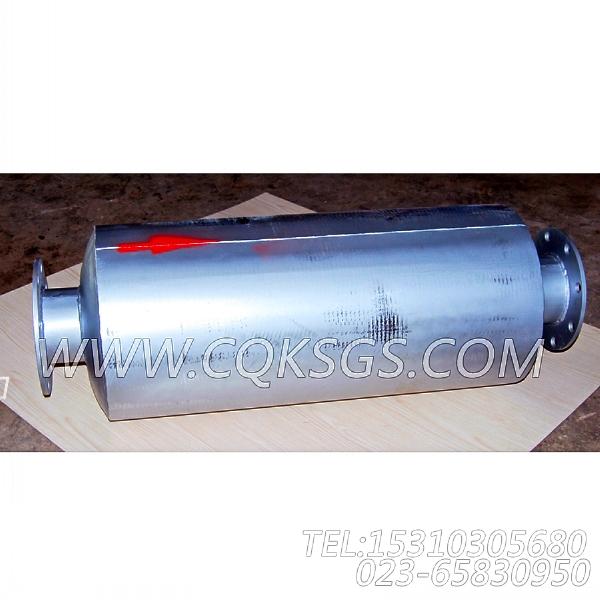 3418930消声器总成,用于康明斯NTA855-G2(M)60Hz主机排气消声器组,【轮船用】配件-0