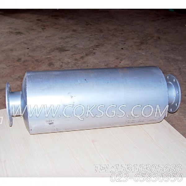 3418930消声器总成,用于康明斯MTA11-G2动力排气消声器组,【船舶机械】配件-1
