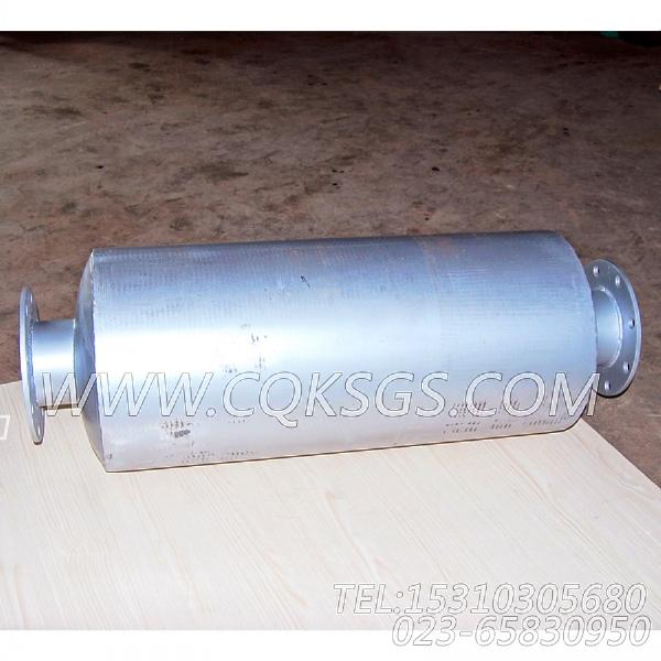 3418930消声器总成,用于康明斯NTA855-G1(M)-60HZ柴油发动机排气消声器组,【船舶用】配件-1