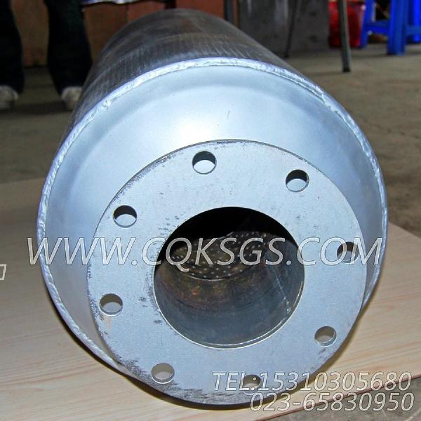 3418930消声器总成,用于康明斯NTA855-G1(M)-60HZ柴油发动机排气消声器组,【船舶用】配件-0