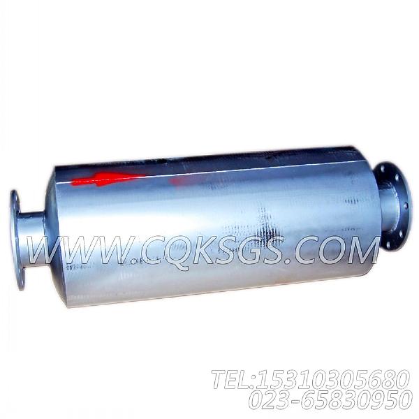 3418930消声器总成,用于康明斯KTA38-G2-660KW主机排气消声器组,【柴油发电】配件-2
