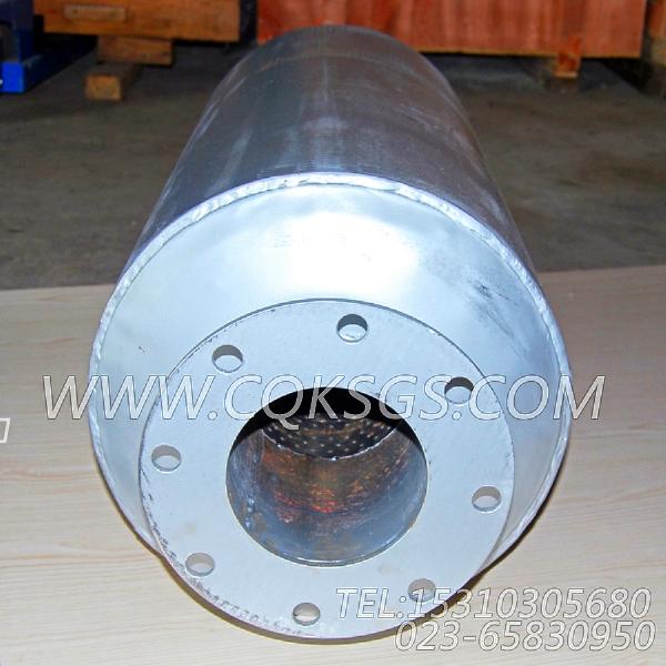3418930消声器总成,用于康明斯KTTA19-G2主机排气消声器组,【柴油发电】配件-1