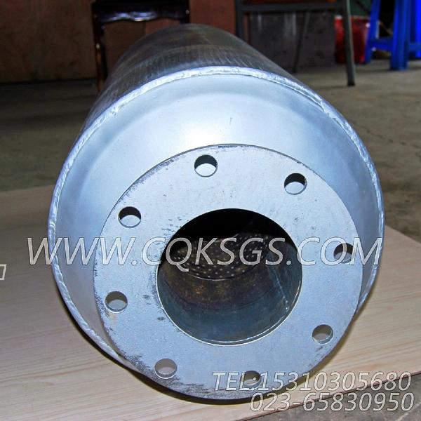 3418930消声器总成,用于康明斯MTA11-G2动力排气消声器组,【船舶机械】配件-0