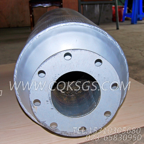 3418930消声器总成,用于康明斯KT38-P780柴油发动机排气消声器组,【应急水泵机组】配件-2