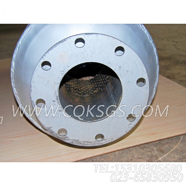3418930消声器总成,用于康明斯KT38-P780柴油发动机排气消声器组,【应急水泵机组】配件-0