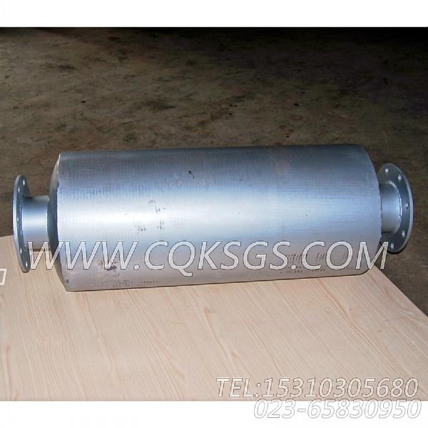 3418930消声器总成,用于康明斯NTA855-G1(M)-60HZ柴油发动机排气消声器组,【船舶用】配件-2