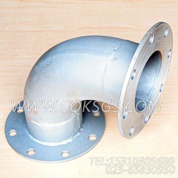 3418944弯管接头,用于康明斯NT855-M300柴油机排气消声器组,【抽沙船用】配件