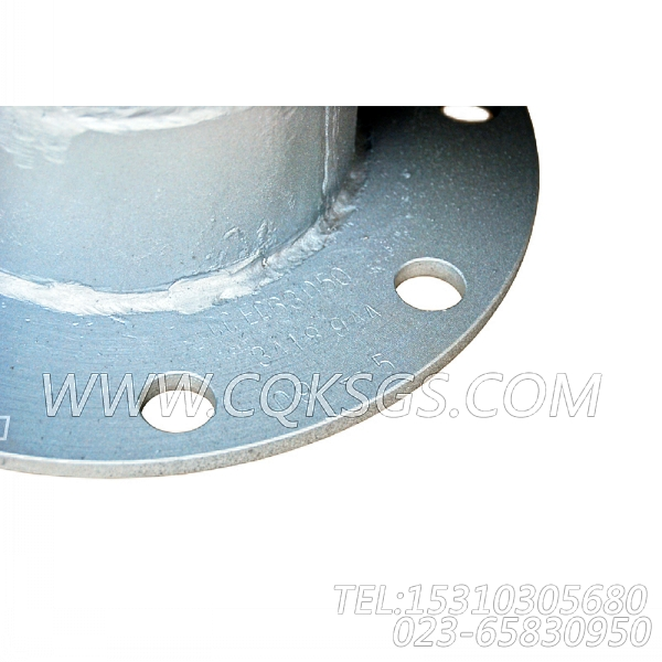 3418944弯管接头,用于康明斯NT855-M300柴油机排气消声器组,【抽沙船用】配件-1