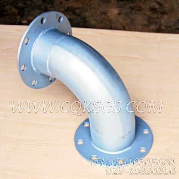 3418944弯管接头,用于康明斯NT855-M300柴油机排气消声器组,【抽沙船用】配件-0