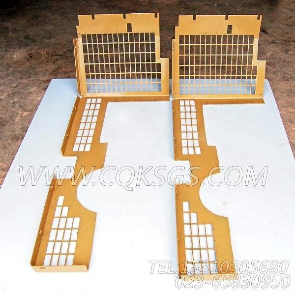 3419052风扇防护板,用于康明斯NTA855-P360主机散热器组,【泥浆泵】配件
