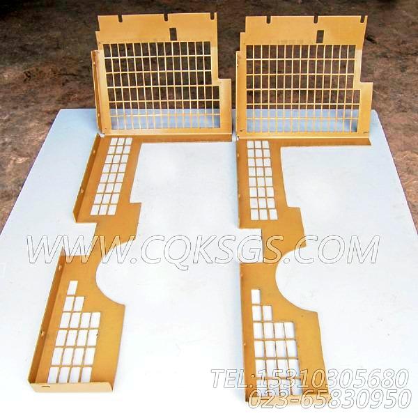3419052风扇防护板,用于康明斯NTA855-P360主机散热器组,【泥浆泵】配件-2