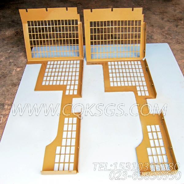 3419053风扇防护板,用于康明斯NTA855-C335柴油机散热器组,【河南电力牵张】配件