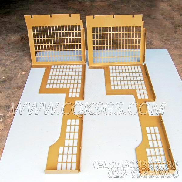 3419053风扇防护板,用于康明斯NTA855-C335柴油机散热器组,【河南电力牵张】配件-1