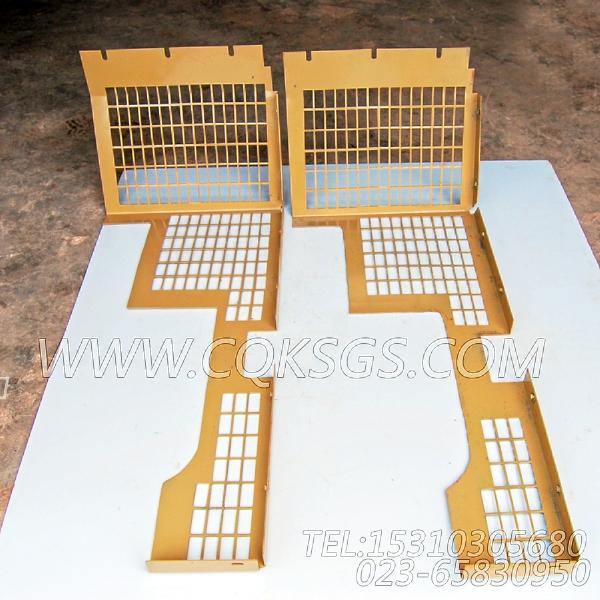 3419053风扇防护板,用于康明斯NTA855-C335柴油机散热器组,【河南电力牵张】配件-0