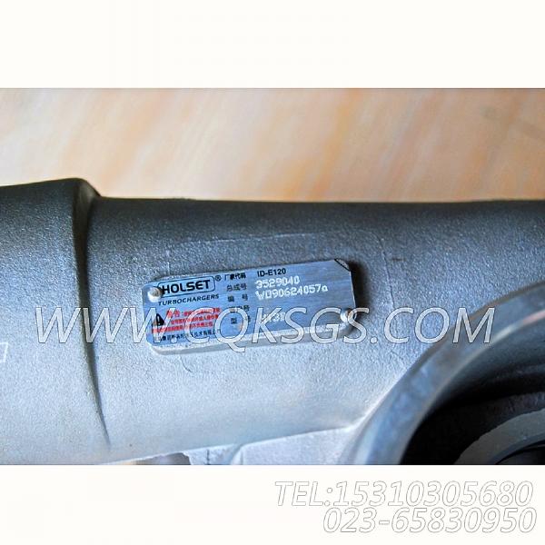 3529040HOLSET增压器总成,用于康明斯NTA855-G2(M)柴油发动机性能件组,【船用主机】配件