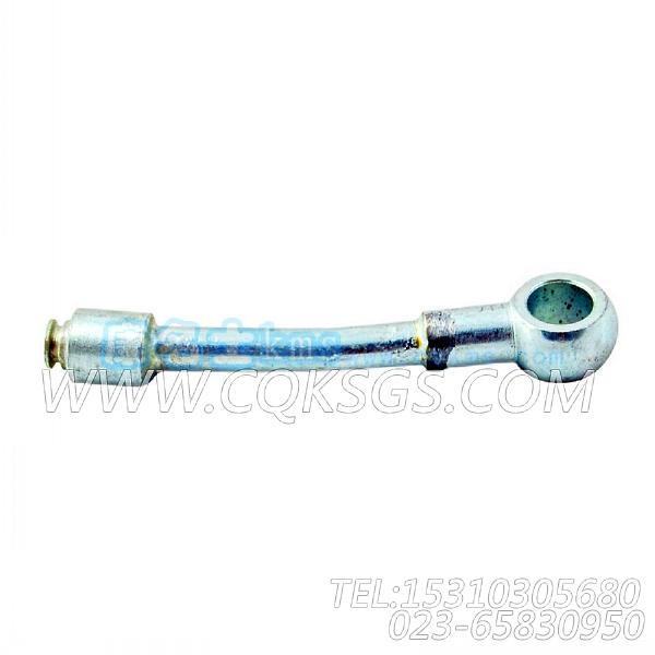 3627044HVT机油输油管,用于康明斯KTA19-P540柴油发动机基础件组,【应急水泵机组】配件-2
