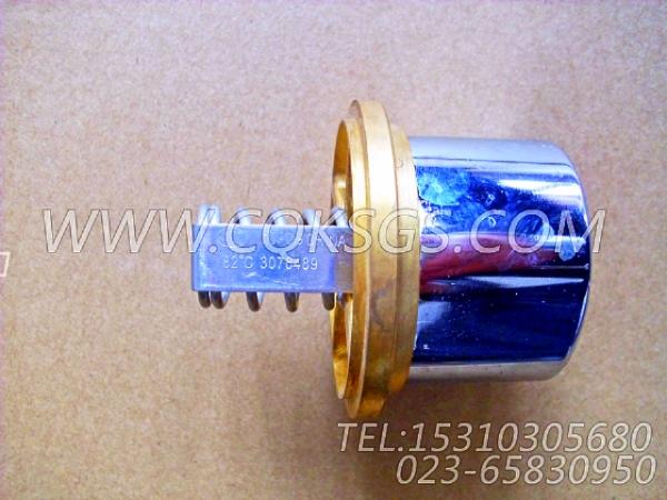3076489节温器,用于康明斯NTA855-C400柴油机出水管联接组,【装载机】配件