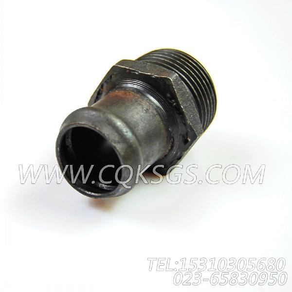 153408普通软管接头,用于康明斯NTA855-C400动力散热器组,【兰州矿机油田洗井车】配件-2