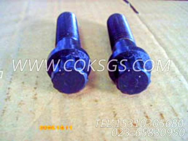 153582十二角螺栓,用于康明斯NT855-L290主机起动机安装组,【车用】配件-1