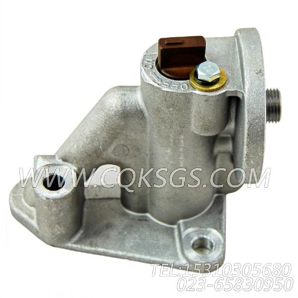 3819767水滤器座,用于康明斯M11-C300柴油机水滤器座组,【挖掘机】配件-1