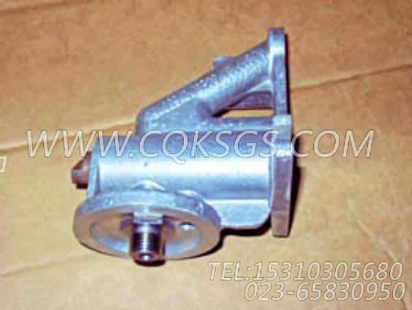 3819767水滤器座,用于康明斯M11-C300动力水滤器组,【扫雪车】配件-0