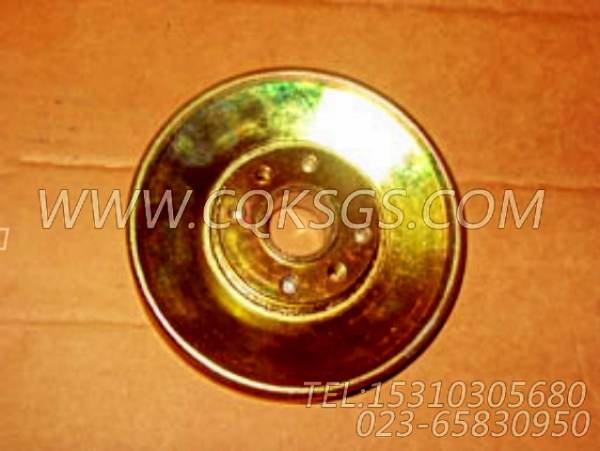 3883324附件驱动皮带轮,用于康明斯M11-C225H柴油机水泵皮带轮组,【可控震源车】配件-1