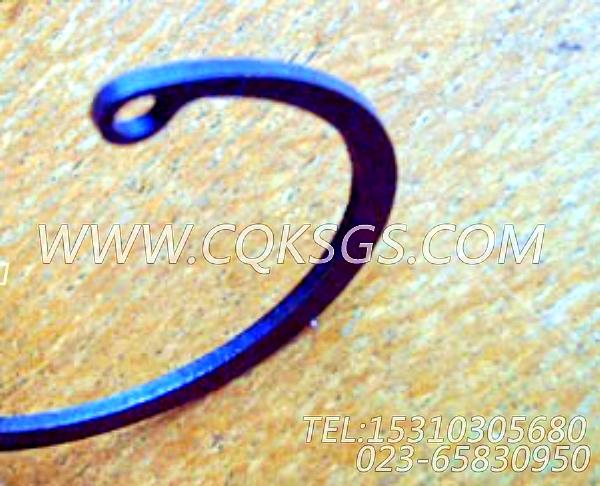 157978卡环,用于康明斯NTA855-C360柴油发动机出水管安装组,【徐州重机起重机】配件-2