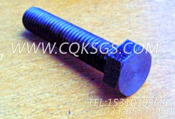 166777六角螺栓,用于康明斯NTA855-P400柴油机风扇布置组,【水泵机组】配件