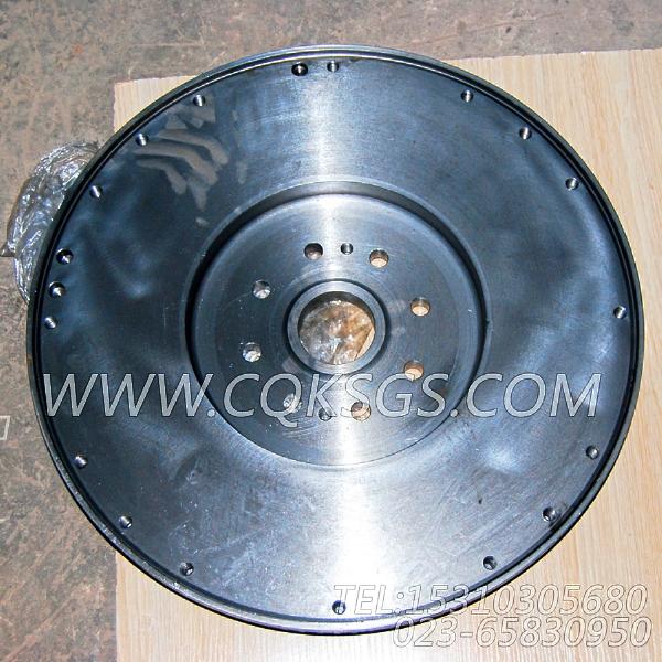 4060816飞轮总成,用于康明斯ISM305V发动机飞轮组,【抽沙船用】配件-0