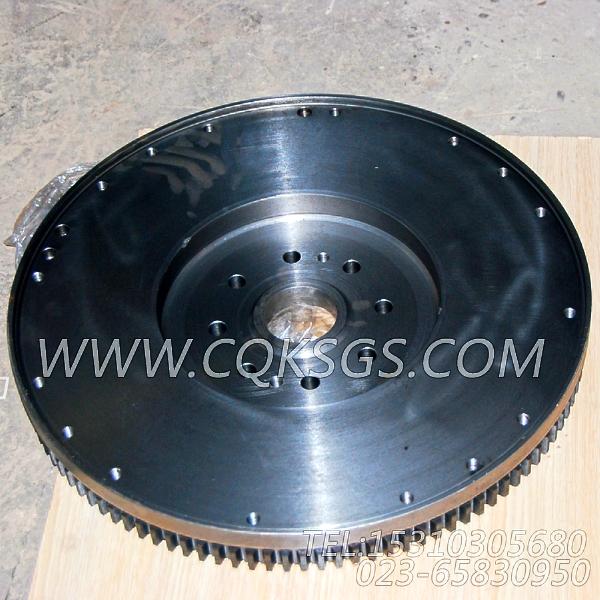 4060816飞轮总成,用于康明斯ISM305V发动机飞轮组,【抽沙船用】配件-2