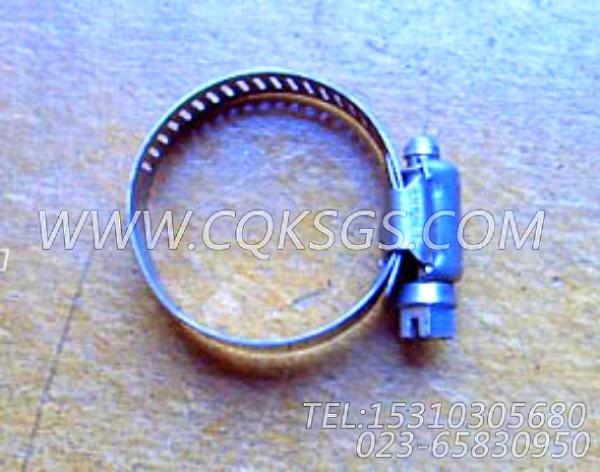 43828A软管卡箍,用于康明斯NT855-C250柴油机空压机安装组,【银鹏水泵机组】配件