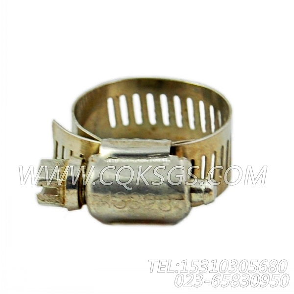 43828A软管卡箍,用于康明斯NT855-C250柴油机空压机安装组,【银鹏水泵机组】配件-2