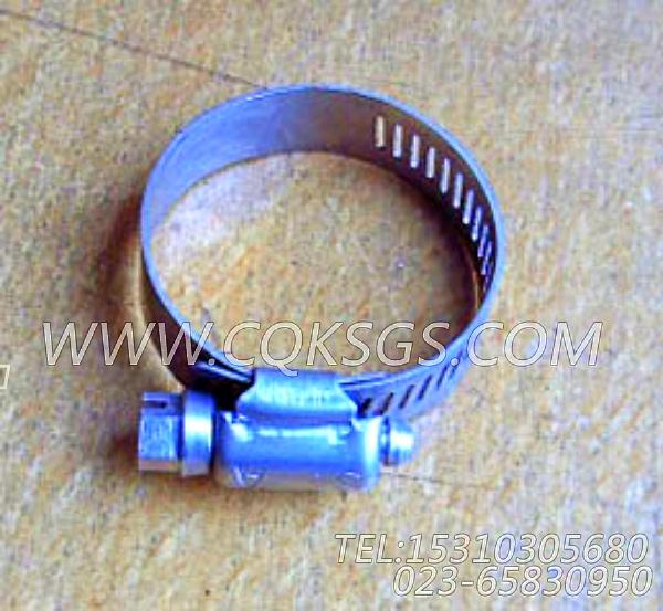 43828A软管卡箍,用于康明斯NT855-P300主机散热器组,【应急水泵机组】配件-1