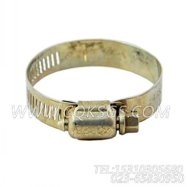 43828B软管夹箍,用于康明斯NT855-L290主机节温器壳组,【车用】配件-2
