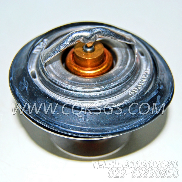 【引擎6LTAA8.9-C300的节温器组】 康明斯节温器,参数及图片-2