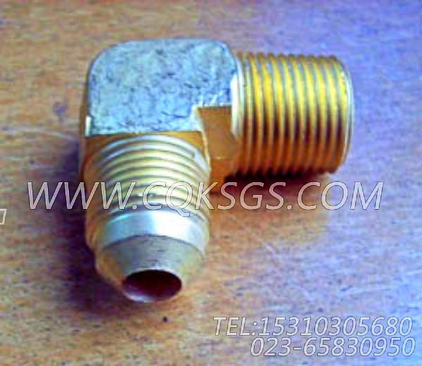 68645阳性连接弯管,用于康明斯NT855-C280动力机油旁通滤清器组,【内燃机车】配件-0
