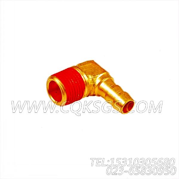 179903联接弯管,用于康明斯NTC-400柴油发动机水滤器组,【华菱俄罗斯牵引车】配件