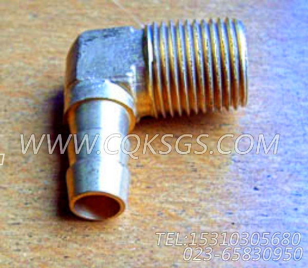 179903联接弯管,用于康明斯NT855-C280主机水滤器组,【徐州重机起重机】配件-2