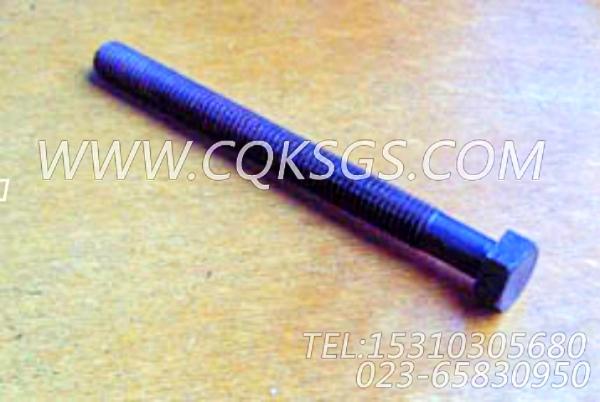 182706六角螺栓,用于康明斯NT855-M300主机基础件组,【抽沙船用】配件-1