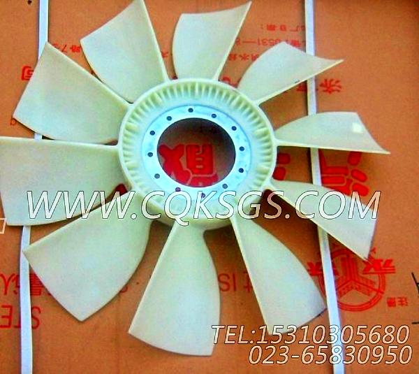 【引擎6BT5.9-G的发动机风扇】 康明斯发动机风扇,参数及图片