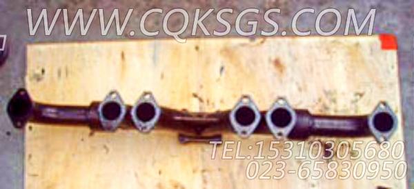 3896414排气管,用于康明斯M11-C225柴油发动机排气管组,【打桩机】配件-1