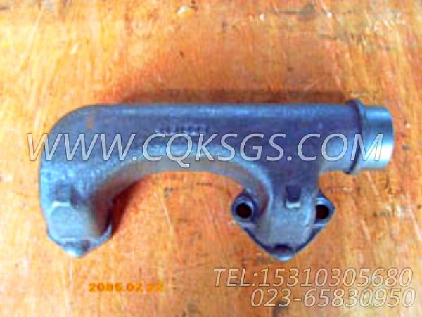 151489排气管,用于康明斯NT855-C250主机排气管及安装组,【油田压裂车】配件