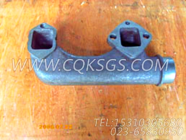 151489排气管,用于康明斯NT855-C250主机排气管及安装组,【油田压裂车】配件-1