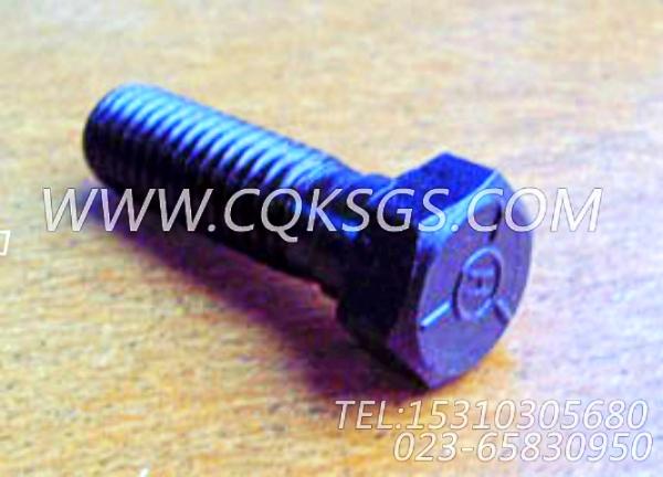 S155六角螺栓,用于康明斯NTA855-C400发动机排气管及安装组,【钻机】配件-2