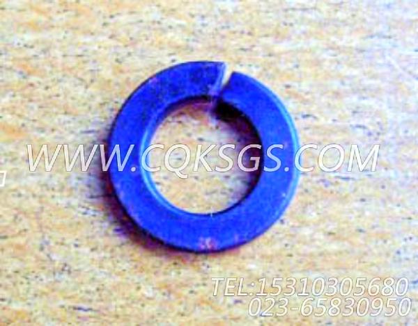 S604弹簧垫圈,用于康明斯KTA19-M640主机增压器安装组,【船用】配件-1