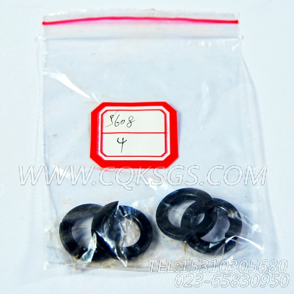 S608弹簧垫圈,用于康明斯NTA855-P360柴油发动机发电机安装组,【水泵机组】配件-1