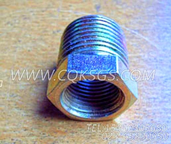 S921D衬套接头,用于康明斯KTA38-C1050柴油发动机空压机回油管组,【高空作业车】配件-2